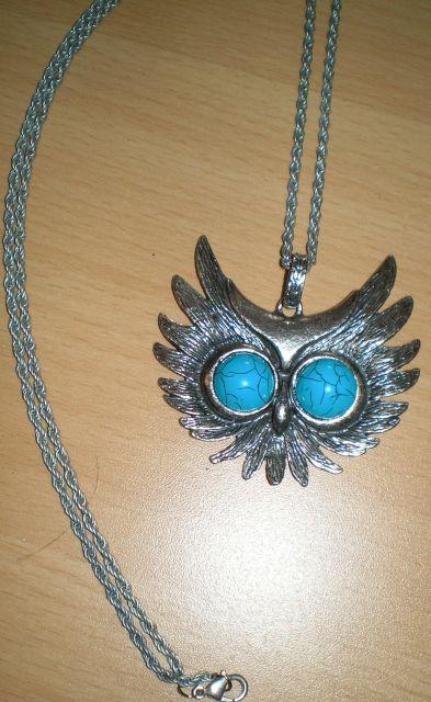 náhrdelník - sova,