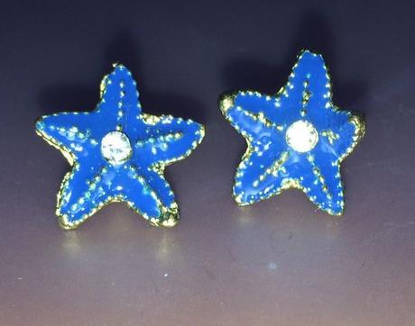 Náušnice hviezdice,