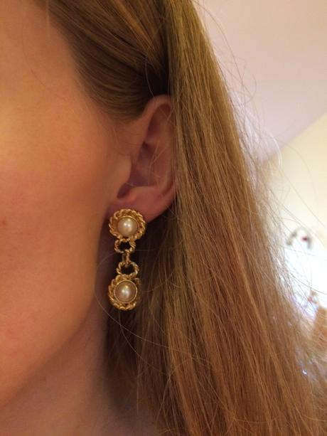 Náušnice s perlami,