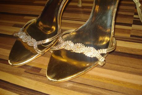 Dámske spoločenské sandále, 39