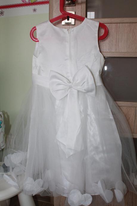 šaty pre dievčatko, 116