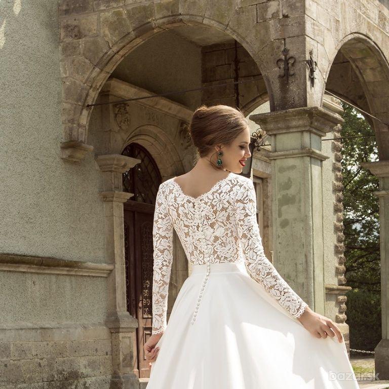 01f98f9a4a90 Nové svadobné šaty s-m ihneď k odberu