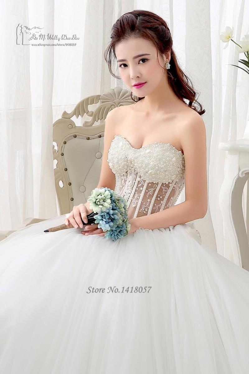 eaadacbb37ea Romantické korzetové svadobné šaty v.32-56