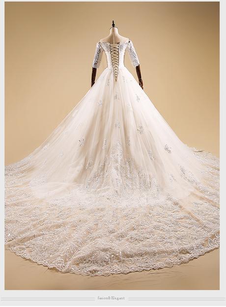 Svadobné šaty v. 32-56, 38