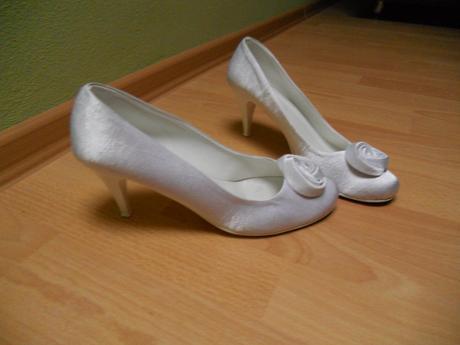 Pohodlné svadobné topánky, 40