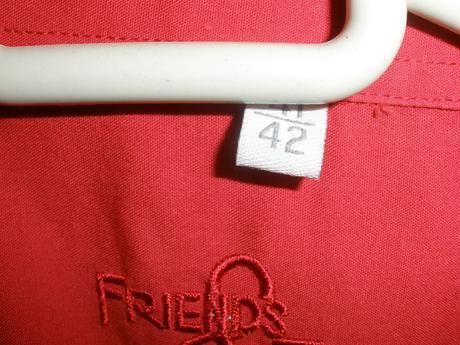 červena kosela, kratky rukav 41/42, 42