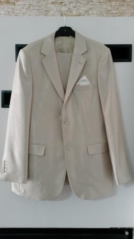 komplet svadobný oblek Paco Romano, 48