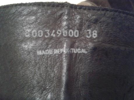 Dámske kožené čižmy, 38