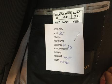 Paco Romano oblek veľkosť 38, 38