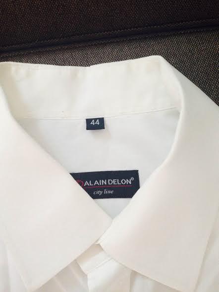biela ALAIN DELON košela, 44