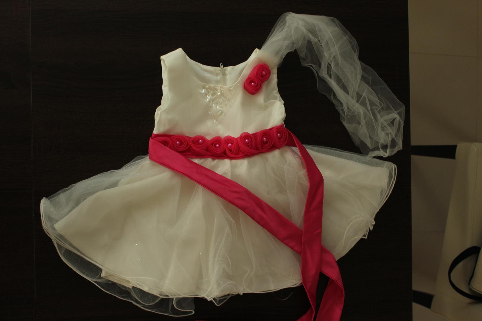 Slávnostné šaty pre dievčatko fe1c890f659