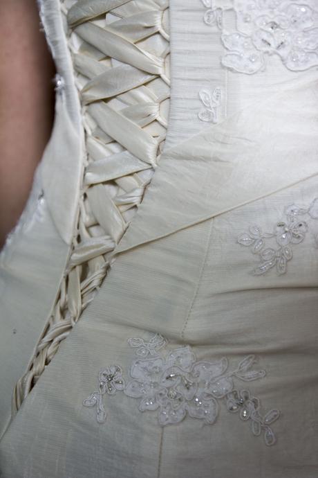Svatební šaty Essence of australia, velikost 36-38, 38