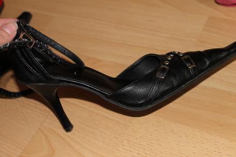 čierne topánky, 37