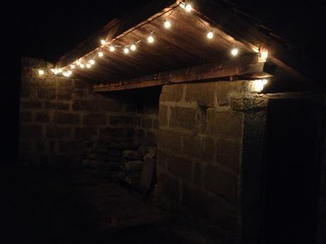 žárovky na šňůře pro venkovní použití,