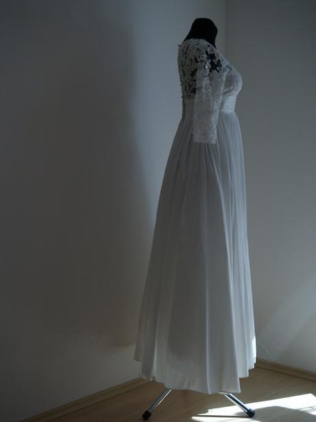 Svatební šaty - ideální pro těhotenské bříško, 37