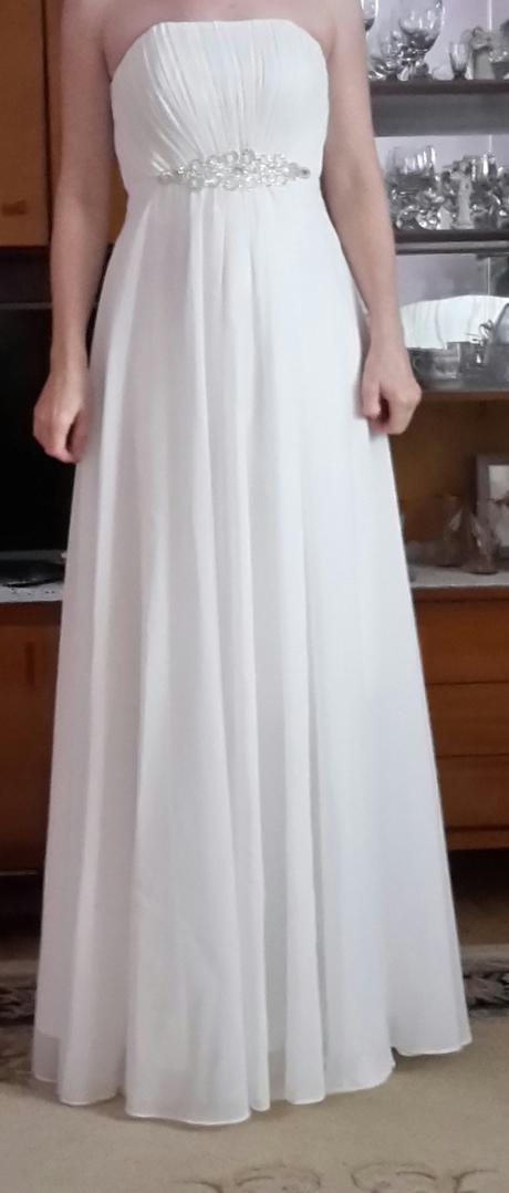 bílé antické šaty, 34