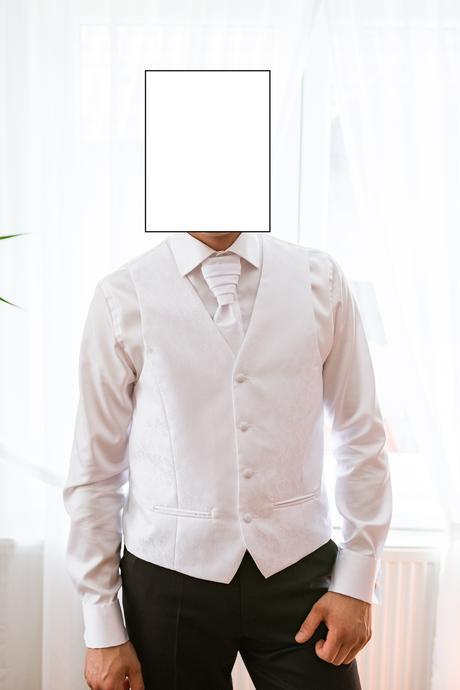 svadobná vesta a kravata veľkosť 50 , 50