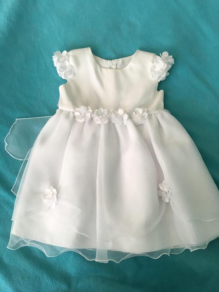 f0fa6605d13c Biele dievčenské šaty