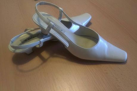 Perleťové boty nejen na svatbu, 38