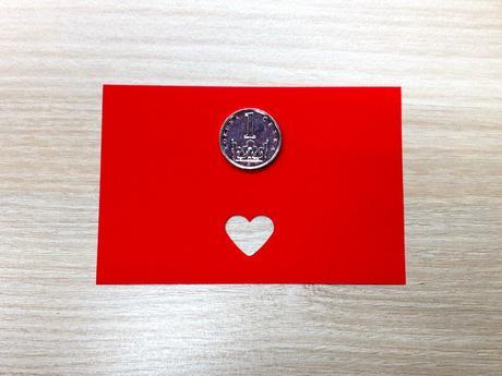 Ozdobná děrovačka 15 mm - srdce,