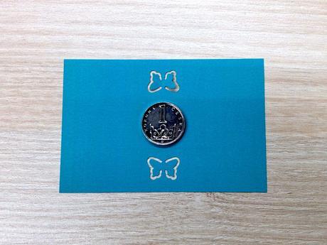 Ozdobná děrovačka obrysová 15 mm - motýlek,