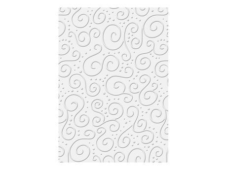 Ozdobný papír bílý III. A4,