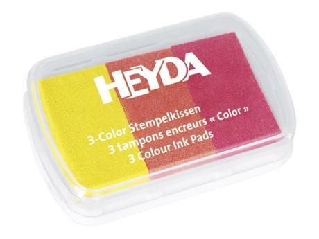 razítkovací polštářek - 3 barvy ,