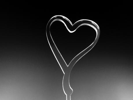 srdce na dort,