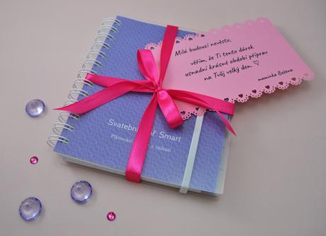 Svatební diář Smart + přání s věnováním,