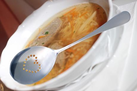 Svatební lžíce na polévku,