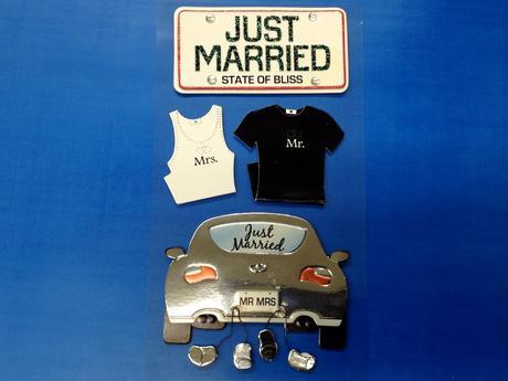 Svatební samolepky - svatba,