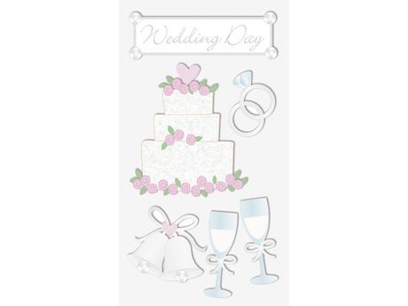 Svatební samolepky - svatba II,