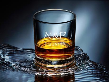 Svatební skleničky na whiskey - od 12 ks,