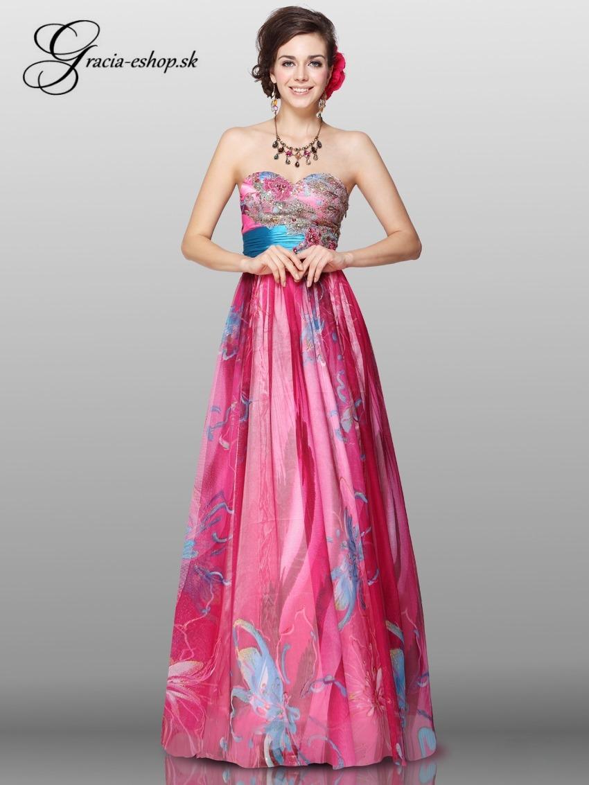 e36c428eaac6 Nové dlhé spoločenské šaty