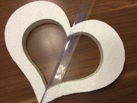 Polystyrenové srdce,
