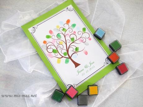 Svatební strom č.1 - netradiční kniha hostů,