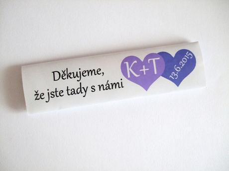 Svatební žvýkačky,