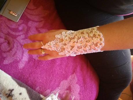 svadobné rukavičky,