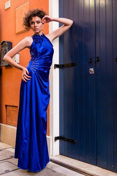 značkové spoločenské šaty sharon, 44