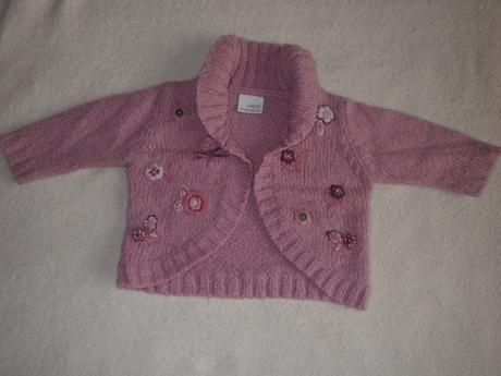 Růžové svetrové bolérko, 98