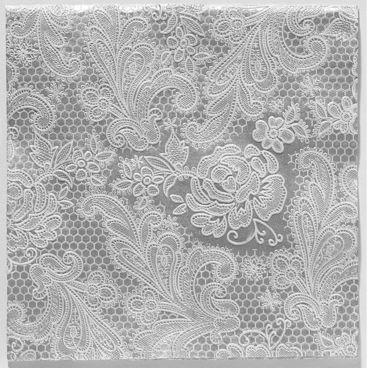 Reliéfne servítky s motívom čipky royal silver w. d1e646ea399