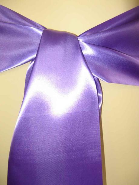 Saténové mašle - fialová - predaj,