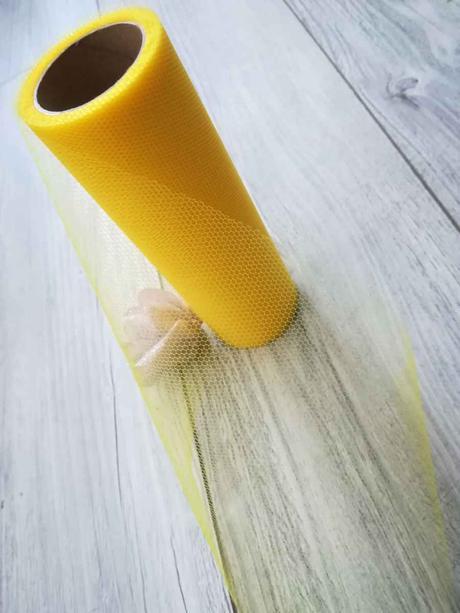 Tyl žltý 30cmx9m - predaj ,