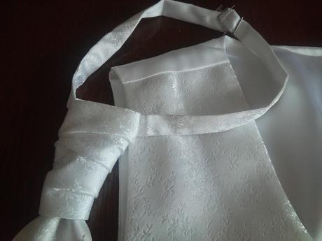 Svatební vestička s kravatou a kapesníčkem, 50