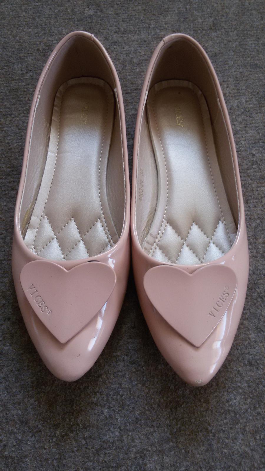 23c07dbdba30 Ružové balerínky