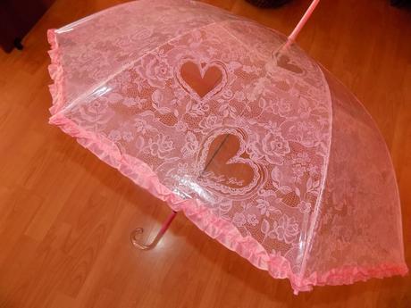 Ružový dáždnik,