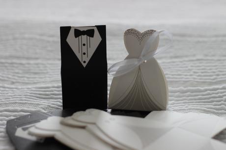 Krabičky na dary pro svatebčany 39 ks,