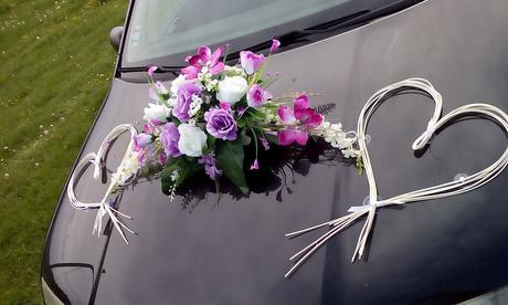 Ikebana na auto,