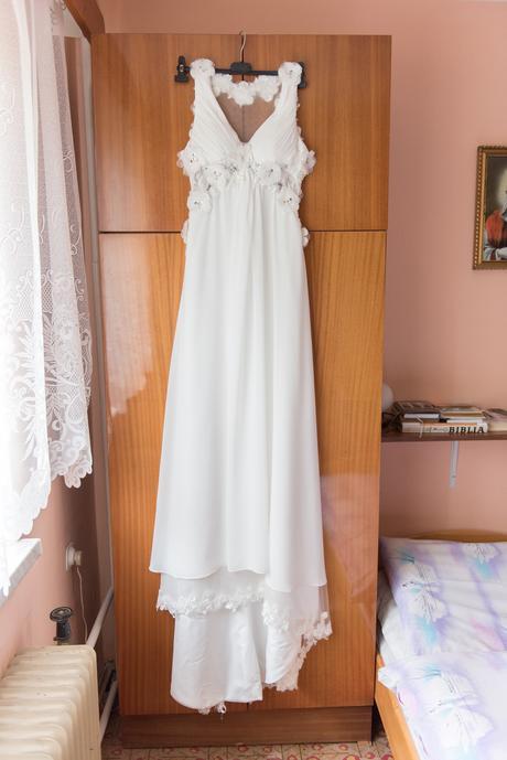 Svadobné šaty - aj tehotenské 38/40, 38