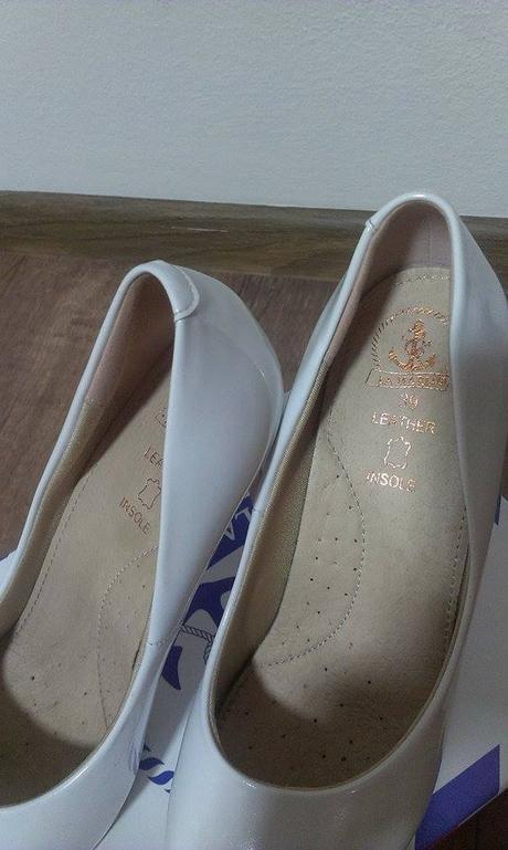 Bílé svatební boty, vel. 39, 39
